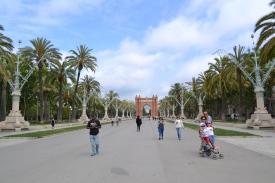 L'Arc de Triomph - Barcelona