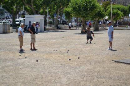 More petanque - in Cannes