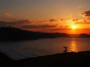 Sunrise at Zarautz