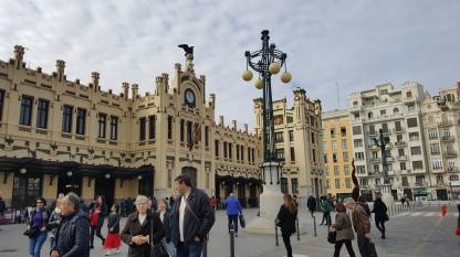 Valencia Estacion Nord (train station)