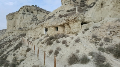 Aguadar caves - occupied until the 1960s