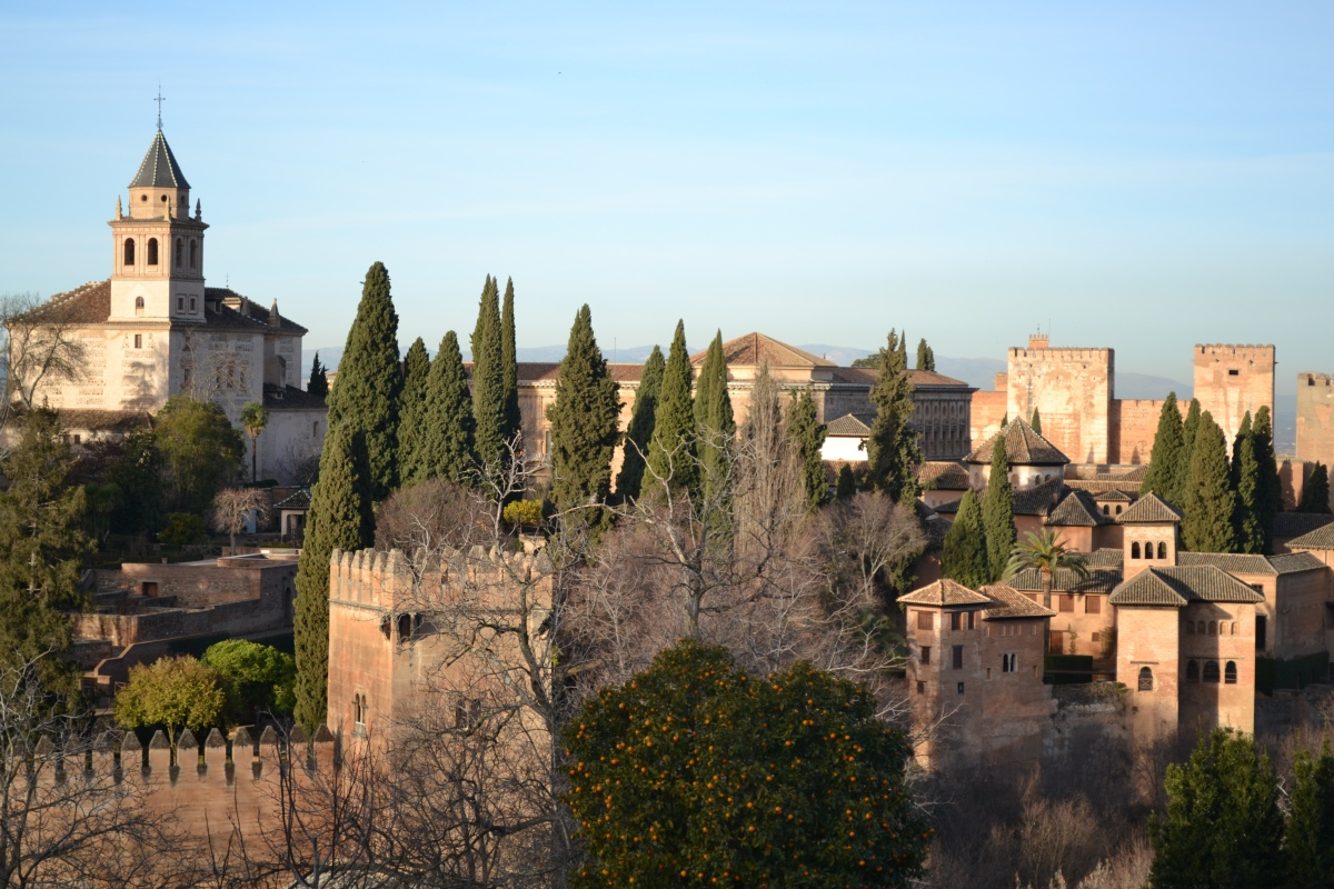 Feb 14th – Onwards to Granada to visit the Alhambra Palace