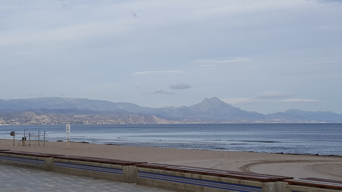 From Benidorm to Alicante – About 40 miles distant, but hundreds of miles apart!