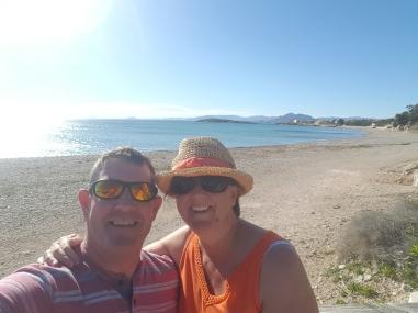 A beautiful day at Isla Plana