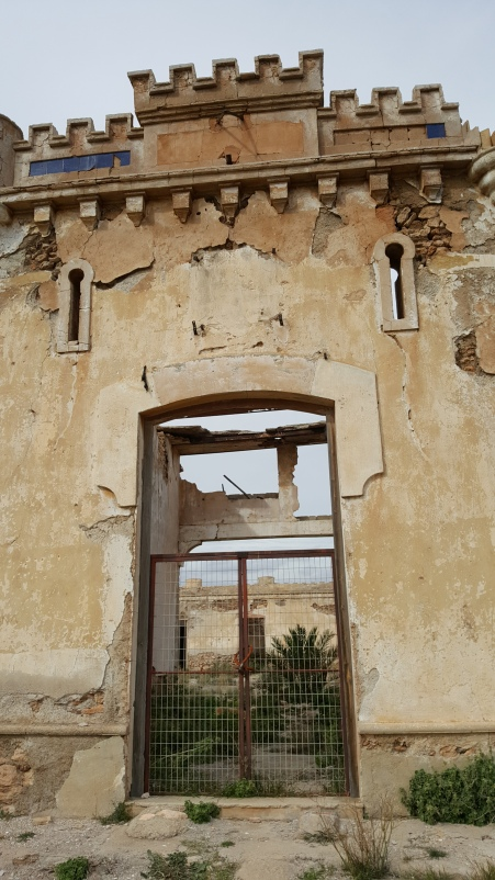 Ruin found in Campello Anderos (on our mountain ride) - Not sure - perhaps a hospital or asylum??