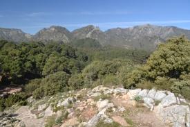 From almost at the peak of Cruz de Juanar