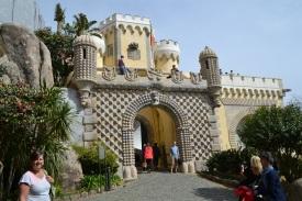 Gateway into Pena Palace, Sintra