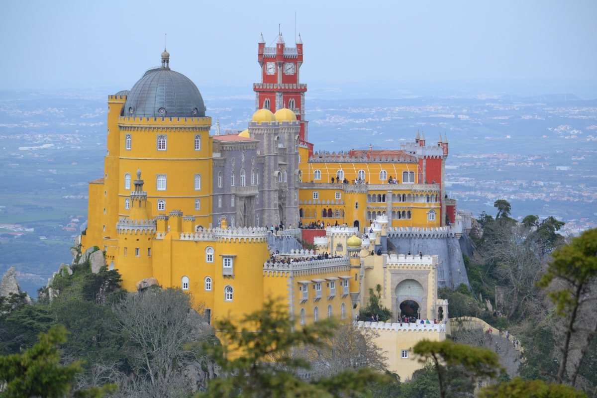 Sintra – a magical day (topped off with a ride in TukTuk)