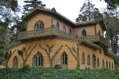 The Countess' Chalet in the Pena Palace grounds