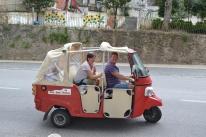 Tuk tuk at Sintra