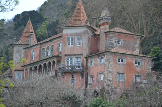 House in the hills above Sintra