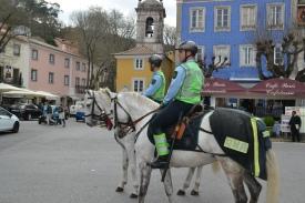 Police patrol in Sintra