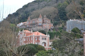 Houses in the hills above Sintra