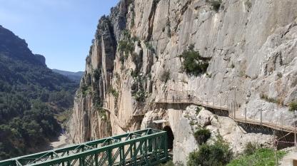Bridge used in the film Von Ryan's Express (Frank Sinatra)
