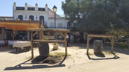 'Horse Bars' in El Rocio