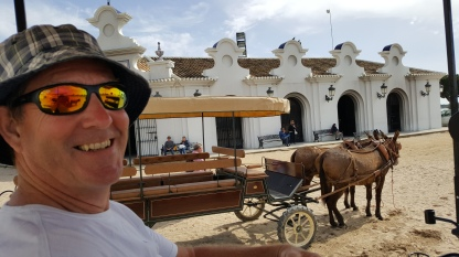 Taking our own trip in El Rocio