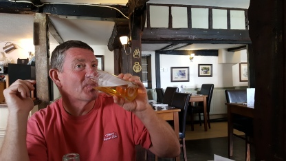 Lunch in the White Swan, Northiam