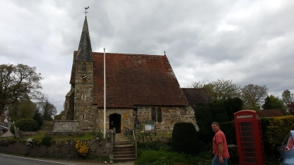 Parish church of St Mary's at Northiam