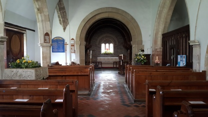 Inside St Mary's, Northiam