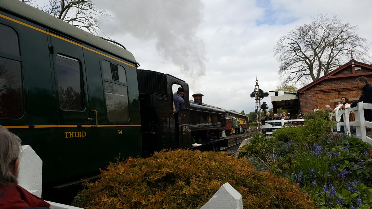 Steam Trains, Walks, Tunnels and Tales