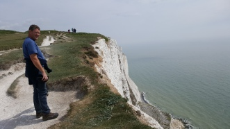 View from the top of the cliffs