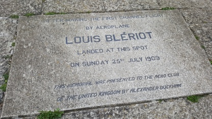 We learned about Louis Bleriot's first flight across the channel!