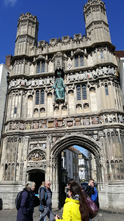 Gateway into Canterbury Cathedral