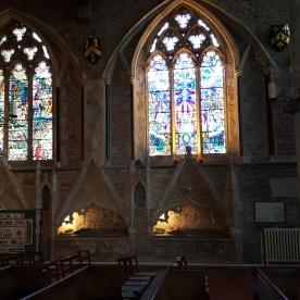 Inside St Thomas' Winchelsea
