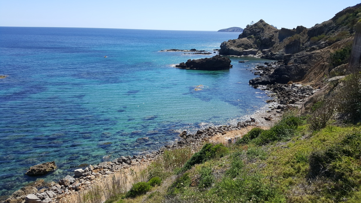 A week in Ibiza – not in the van, but still travelling:)