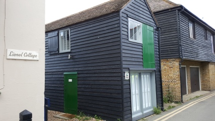 A converted fishermans hut for rent
