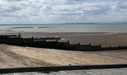 Oyster beds at Whitstable