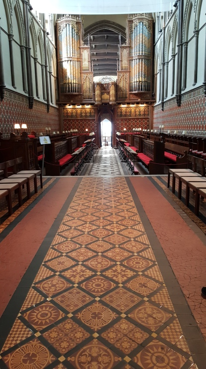 The interior of Rochester Cathedral