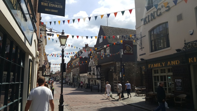The streets of Old Rochester
