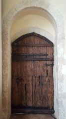 Church door, St Peters Theberton