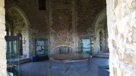 The great hall in Orford Castle