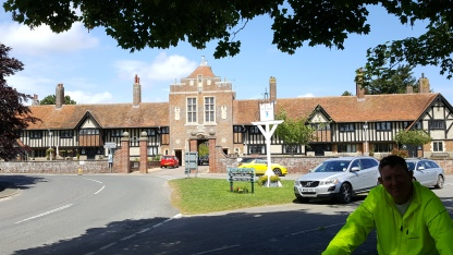 Almshouses and the Dolphin sign