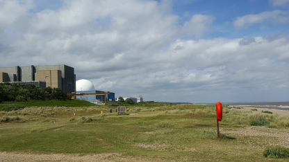 Sizewell B & C from the beach