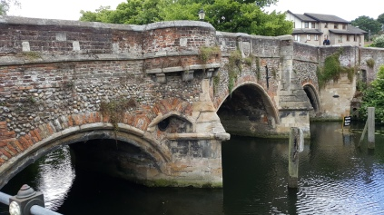 Mediaeval bridge in Norwich