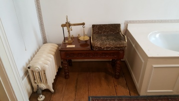 Bathroom scales in Blickling Hall