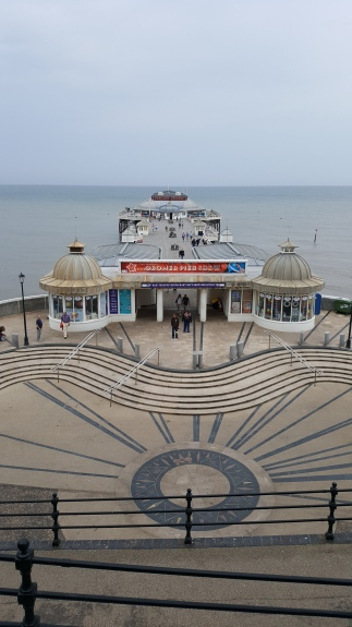 Cromer pier from town