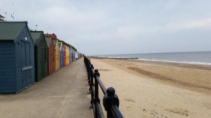 Beach huts at Mundsley