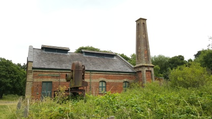 Pump House in West Stow country park