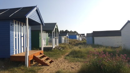 Beach Huts in the dunes at Old Hunstanton