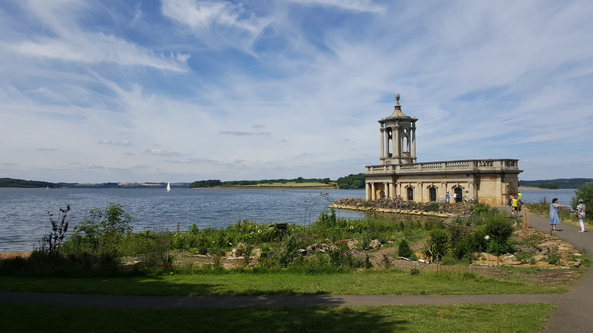 An 18 mile cycle around Rutland Water