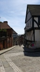 Looking back down Steep Hill, Lincoln