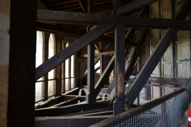 Inside the Lantern Tower of Ely Cathedral