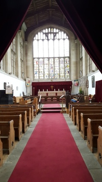 The chancel of Tattershall Church