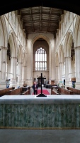 Interior of Tattershall Church