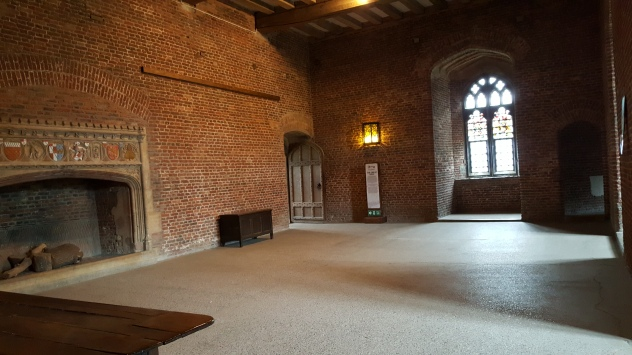 2nd floor main room of Tattershall Castle