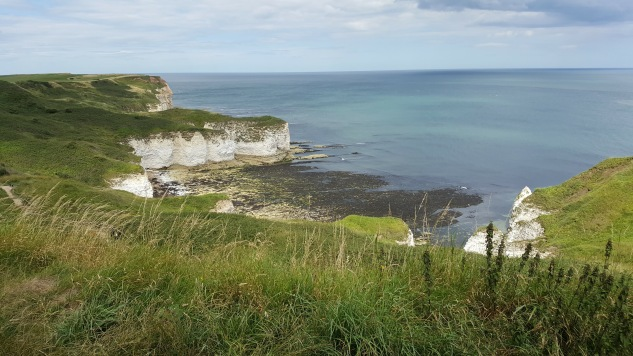 View from the top of Flamborough Lighthouse